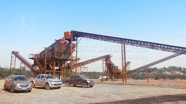 广西南宁时产800吨石料生产线