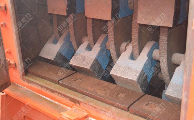 锤式破碎机锤头型号_材质_使用寿命