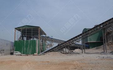 时产3000吨石料生产线