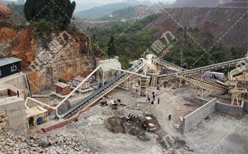 时产800吨整形制砂生产线