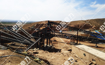 时产800吨制砂生产线