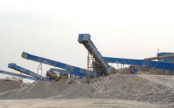 时产500吨白云石生产线