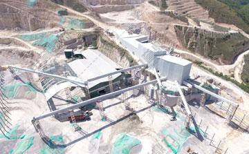 时产700吨石料生产线
