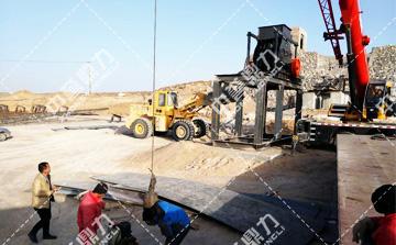 时产150吨小型制砂生产线