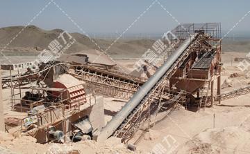时产800-1000吨制砂生产线