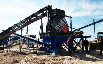 时产200吨小型制砂生产线
