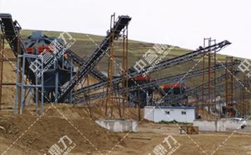 时产500吨破碎制砂生产线